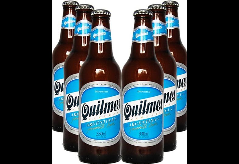 Bottled beer - Lot de 6 beers Quilmes