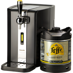 Thuistap - PerfectDraft Leffe Blonde Starter Pack - Machine + Vat