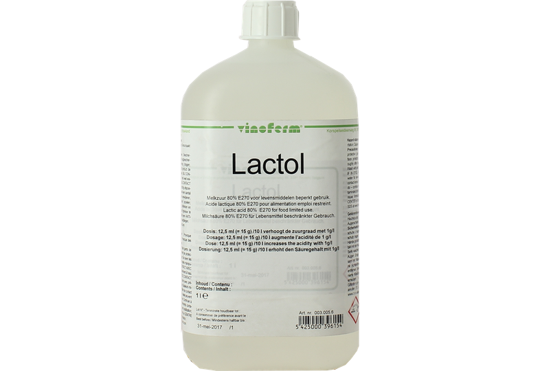 Additifs de brassage - Acide lactique 1L