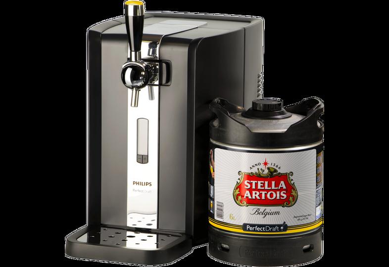 Thuistap - Stella Artois PerfectDraft 6L + Machine deal