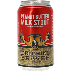 Bottled beer - Belching Beaver Peanut Butter Milk Stout