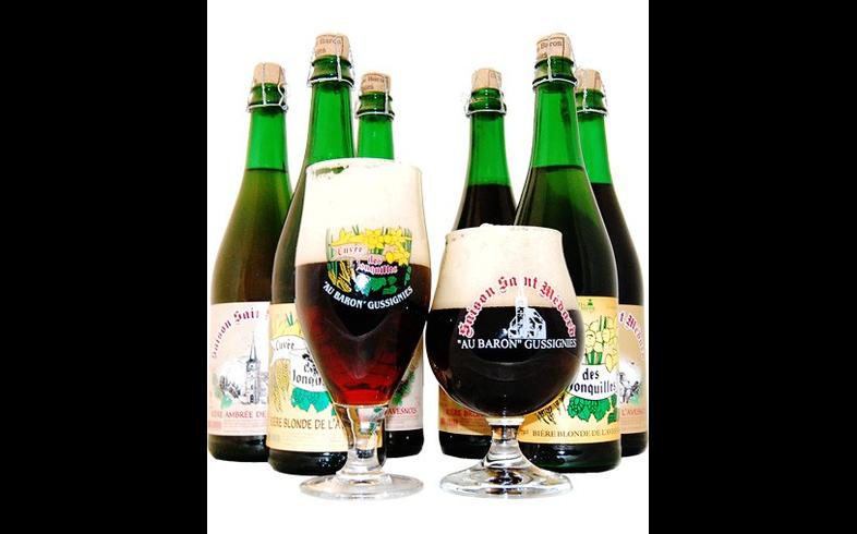 Pack de cervezas artesanales - Assortiment Au Baron 2
