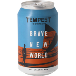 Flaschen Bier - Tempest Brave New World