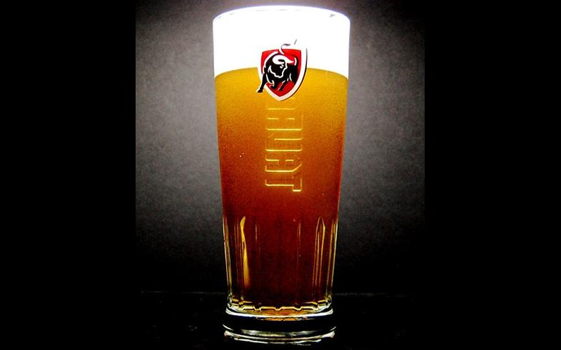 Verres à bière - Verre Jupiler Tauro à pied plat