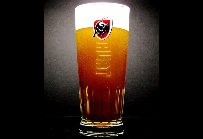 Biergläser - Glas Jupiler Tauro à pied plat