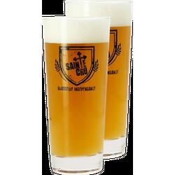 Verres à bière - Pack 2 Verres Brasserie Sainte Cru