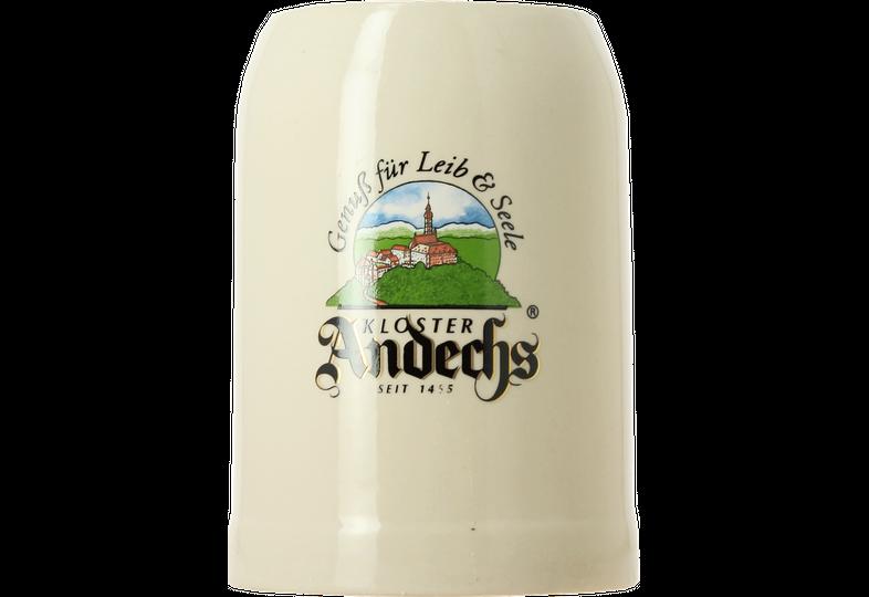 Verres à bière - Chope en grès Andechs