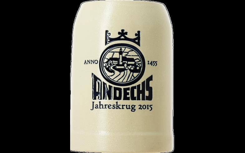 Verres à bière - Jahreskrug Andechs 2015