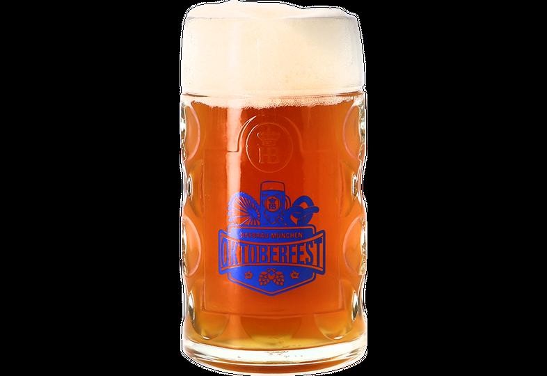 Bierglazen - Bierpul Hofbräu Oktoberfest