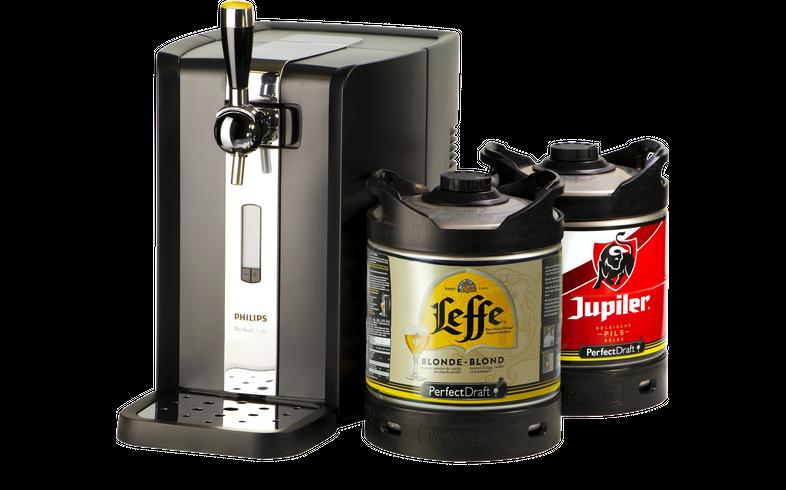 Tireuse à bière - Party Pack PerfectDraft Leffe/Jupiler