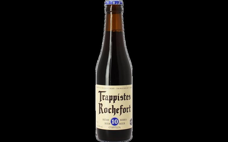 Flessen - Rochefort 10 Trappist 33cl - 0.10 EUR Statiegeld
