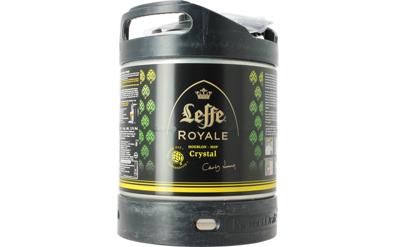 Fûts de bière - Fût 6L Leffe Royale Crystal