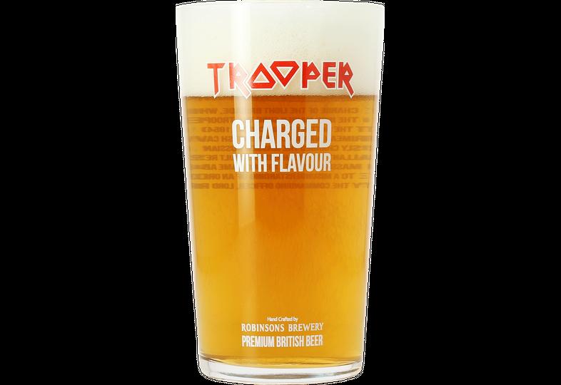 Verres à bière - Verre Iron Maiden Trooper