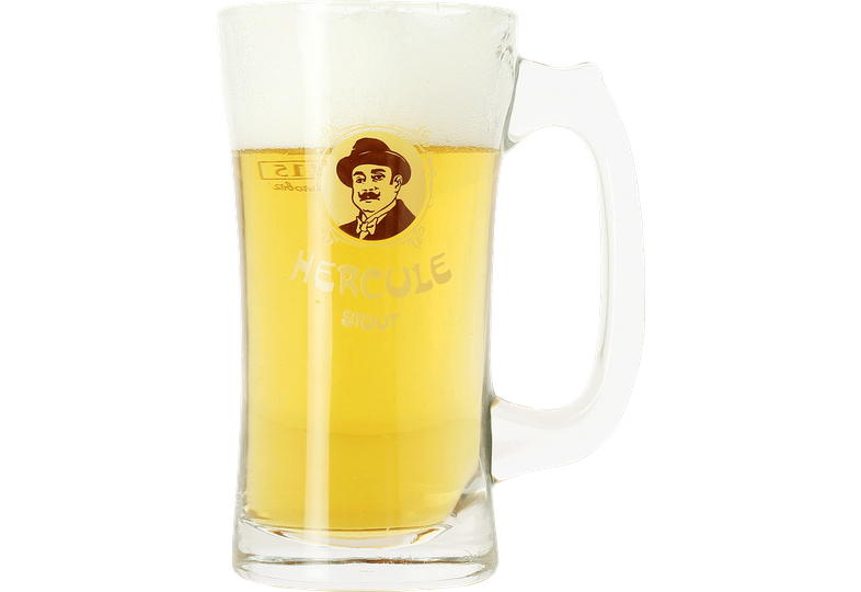 Verres à bière - Chope en verre Hercule Stout