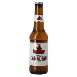 Bottled beer - Molson Canadian