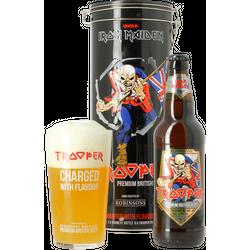 Accueil - Coffret Trooper Iron Maiden (1 bière + 1 verre 50cL)