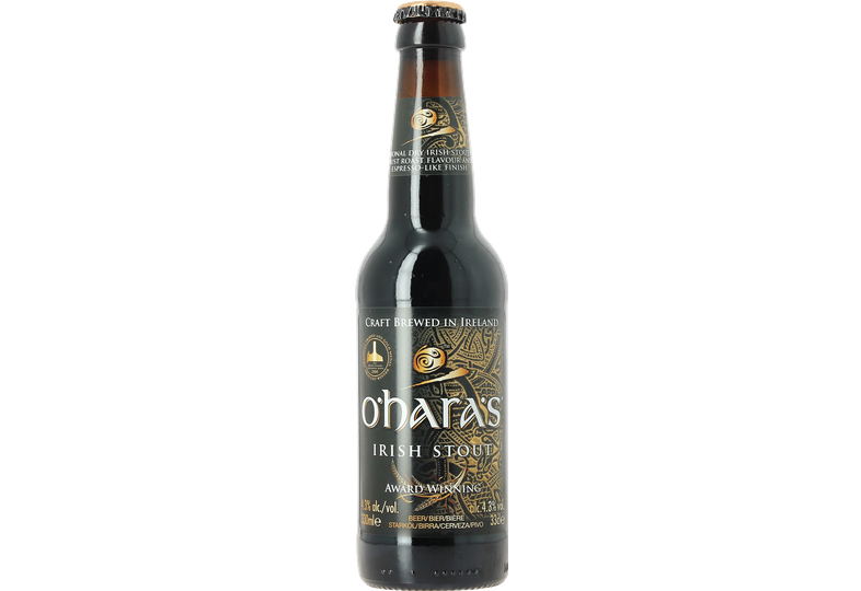 Bottled beer - O'hara's Irish Stout 33 cl