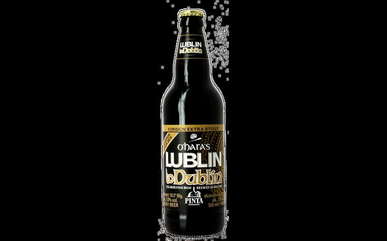 Bottled beer - Pinta / O'Hara's Lublin to Dublin 2016
