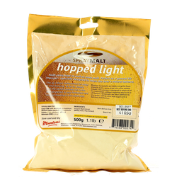 Additivi di brassaggio - estratto di malto polvere Muntons luppolato biondo 500 g